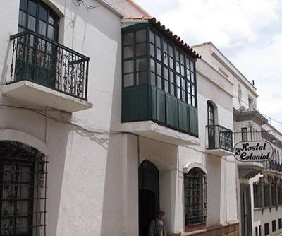 Entrada Hostal Colonial